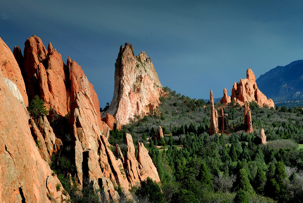 Garden of the Gods  Colorado Landscape  Daniel P  Woods